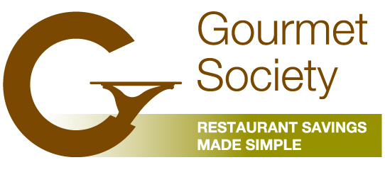 The gourmet society participating restaurants